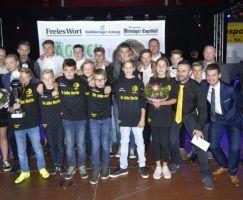 Herzlichen Glückwunsch an die Preisträger: Nachwuchsmannschaft des Jahres.