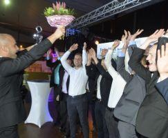 Der SV Blau-Weiß Dermbach freute sich über den Dritten Platz - Mannschaft des Jahres.