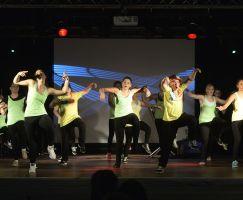 Auftritt Hip Hop Gruppe Tanzclub Weiß Gold Bad Salzungen