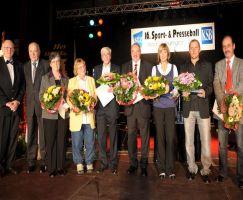 Ehrungen zum Sport- und Presseball 2008