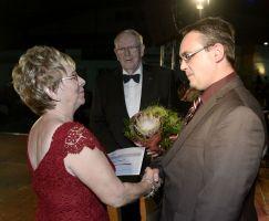 Auszeichnung Uwe Lippert mit der Ehrennadel des Landessportbundes