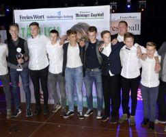 Die C-Junioren des FC 02 Barchfeld belegten den 3. Platz in der Kategorien Nachwuchsmannschaft des Jahres.