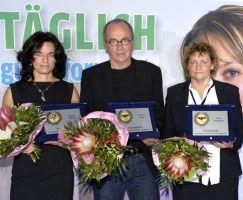Ausgezeichnet mit der KSB Ehrenplakette Sibylle Schmidt, Heiko Matz und Liane Reißmüller (v.l.)