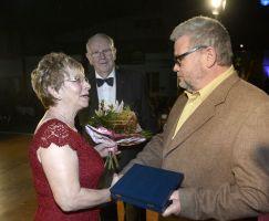 Auszeichnung Heiner Piske mit der Ehrenplakette des Kreissportbundes