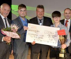 Auszeichnung erfolgreichste Nachwuchsabteilung SV Wacker 04 Bad Salzungen
