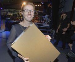 Den Laptop verdankt Maria Mikuletz der Steuerkanzlei Torten Raffler.