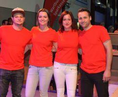 Das Bar-Team vom SV Gumpoldia Gumpelstadt.