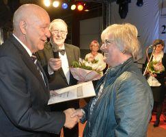 Ehrung Elvira Fischer mit der GutsMuths EP in Silber