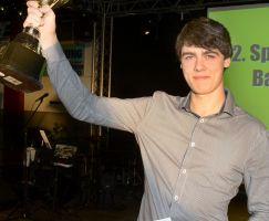 Auszeichnung Adrian Dubravcic erfolgreichster Leistungssportler 2014