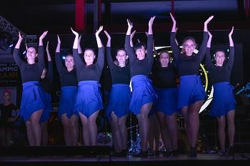 Die Dance Company mit bezaubernden Tänzen.