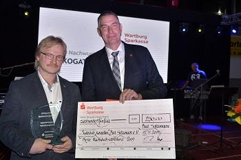 Der JC Kogatan Bad Salzungen wurde von der Wartburg Sparkasse für die erfolgreichste Nachwuchsabteilung geehrt.