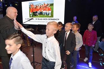 E-Junioren des SV Blau-Weiß Dermbach