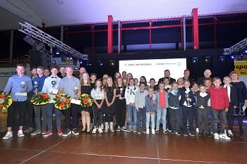 Nachwuchsmannschaft des Jahres: E-Junioren - SV BW Dermbach, 2. Platz: Jugendmannschaft - TT SV GW Immelborn, 3. Platz: D-Juniorinnen - Silvester Bad Salzungen