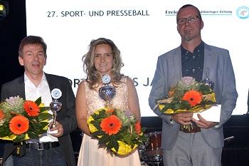 Sportler des Jahres: Anne Wilhelm - SV Med. Bad Liebenstein, 2. Platz: Marko Weber - TV Barchfeld, 3. Platz: Fredy Walch - Rhöner WSV