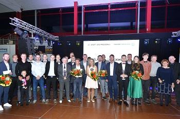 Mannschaft des Jahres: Rhöner WSV, 2. Platz: TTV Stadtlengsfeld, 3. Platz: SG SV Gumpoldia Gumpelstadt/Fortuna Möhra